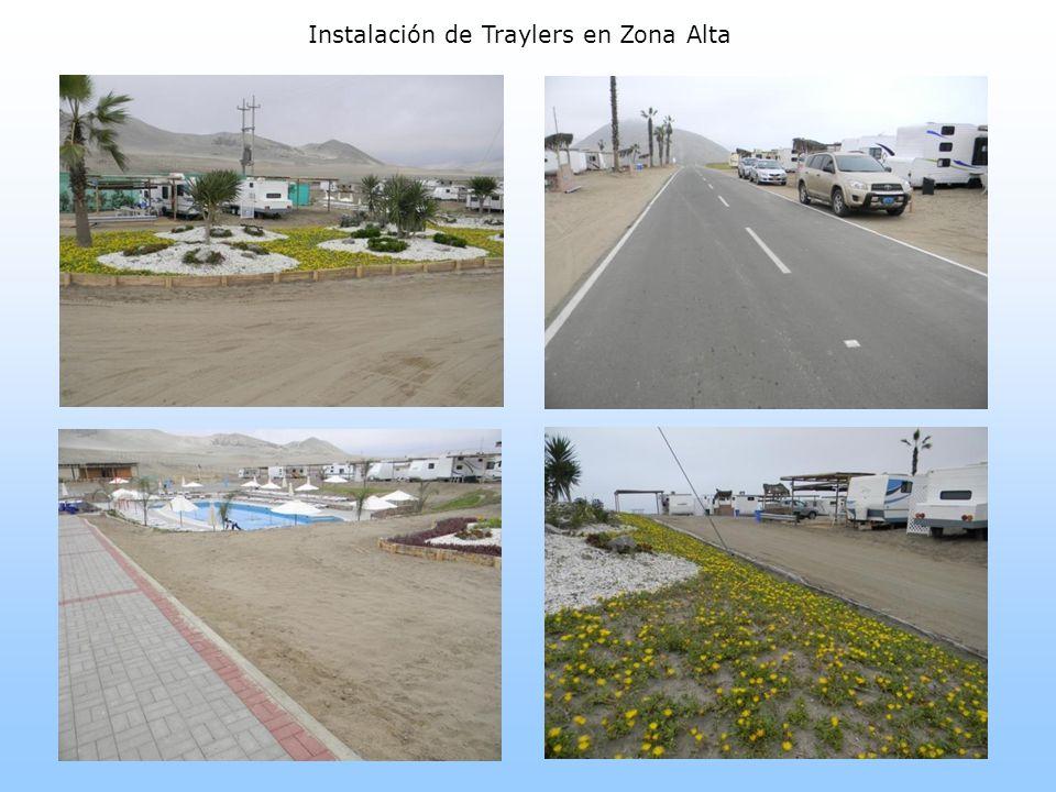 Instalación de Rompe muelles y señalización en Zona Alta