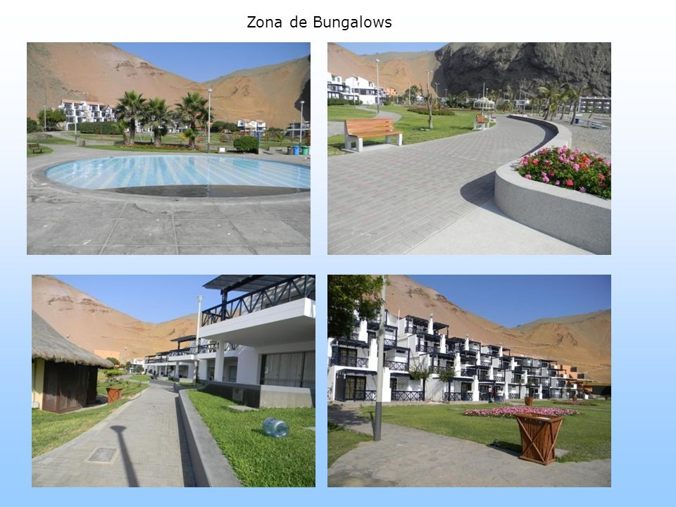 Zona de Bungalows