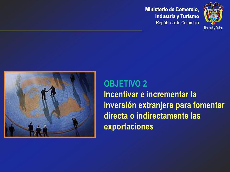 Ministerio de Comercio, Industria y Turismo República de Colombia CAN - MERCOSUR En Diciembre de 2002 se firmó un Acuerdo de Complementación Económica