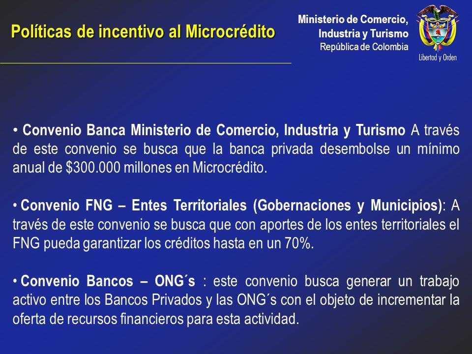 Ministerio de Comercio, Industria y Turismo República de Colombia Innovación y Desarrollo Tecnológico Cátedra de creación de empresas de base tecnológ