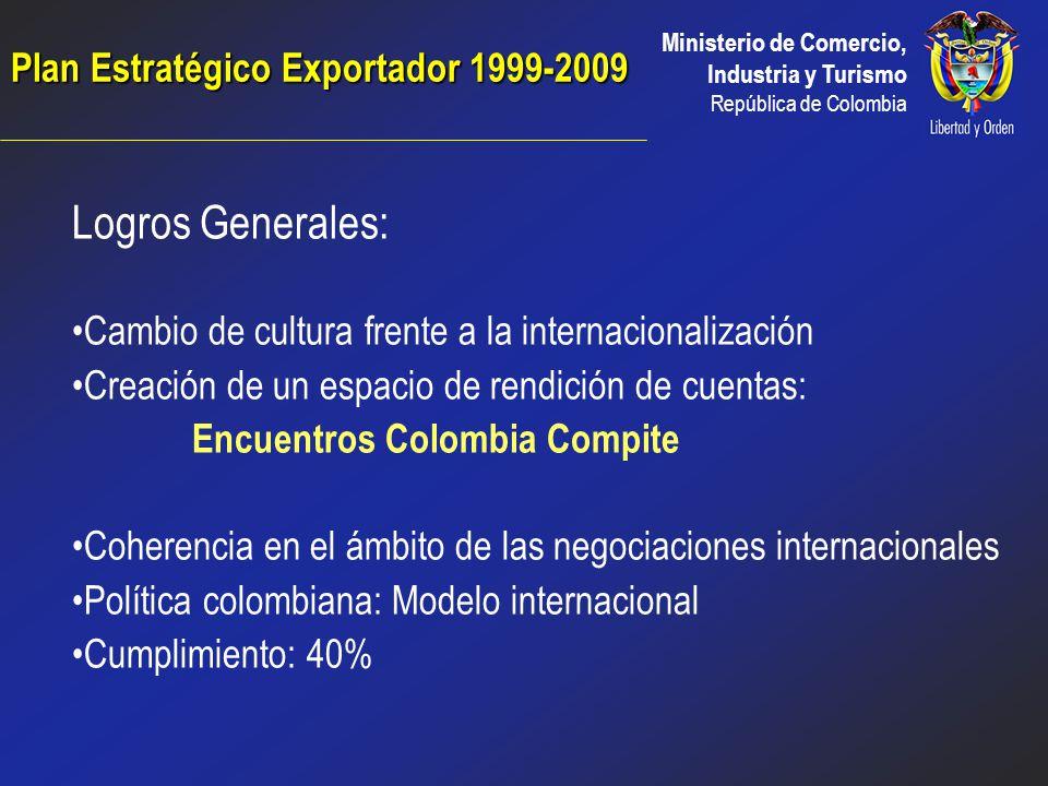 Ministerio de Comercio, Industria y Turismo República de Colombia Plan a largo plazo Concebido entre el sector privado, público y la academia Vehículo