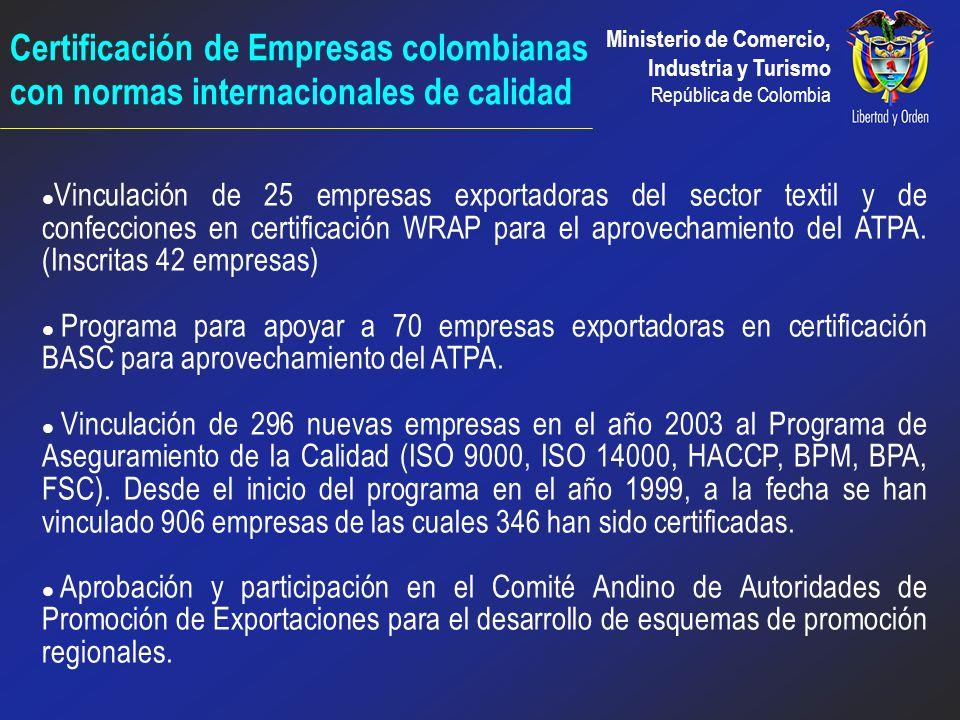 Ministerio de Comercio, Industria y Turismo República de Colombia 8 investigaciones de mercado a la medida para empresas como Hermeco - Off Corss, Bim