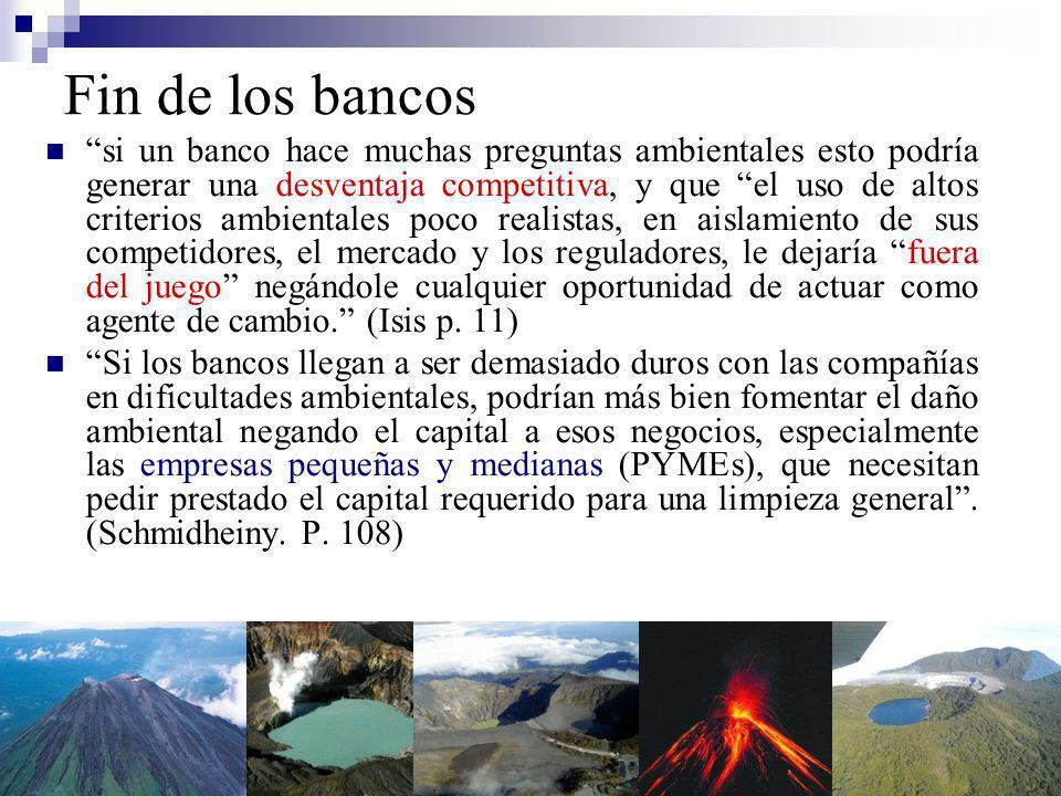 PYMES Monto bajo de préstamo Escala vs.