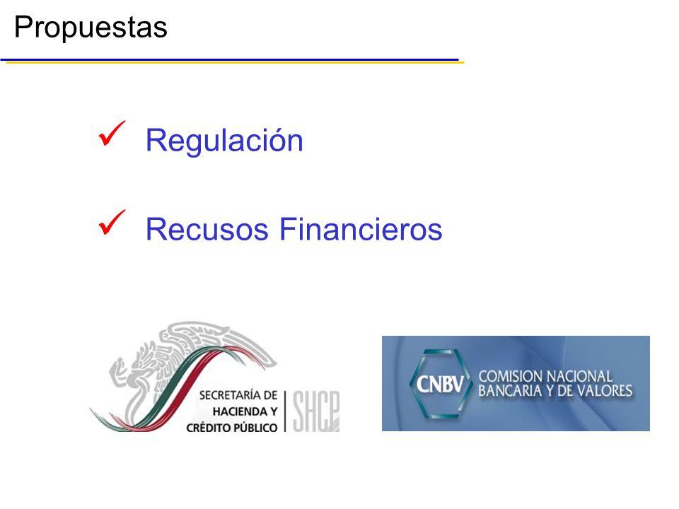 Propuestas Regulación Recusos Financieros