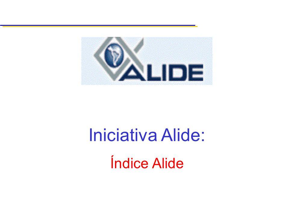 Índice Alide Iniciativa Alide: