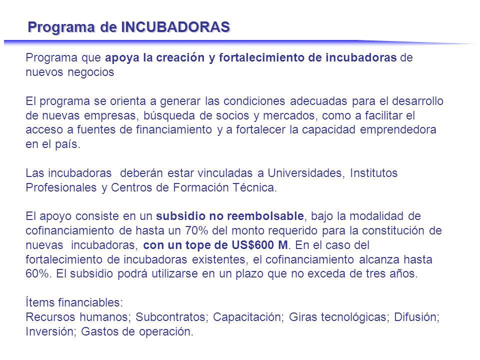 Capital de Riesgo Semilla - Modelo activospasivos administrador CORFO inversionistas Fondo de Inversión Empresa 1 2 3 n 3 1 comisión administra Subsidios al administrador capital