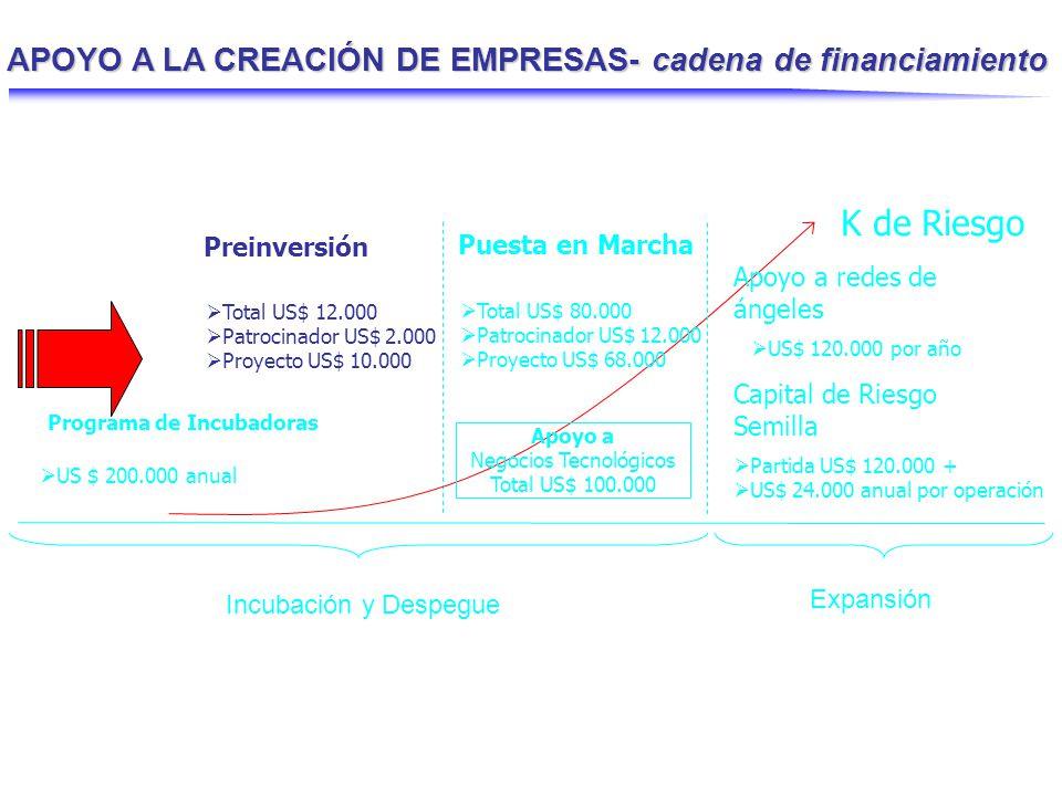 Estudios de Preinversión Programa orientado a fortalecer la definición y formulación de proyectos de nuevos negocios, a través del cofinanciamiento de actividades de puesta en marcha.