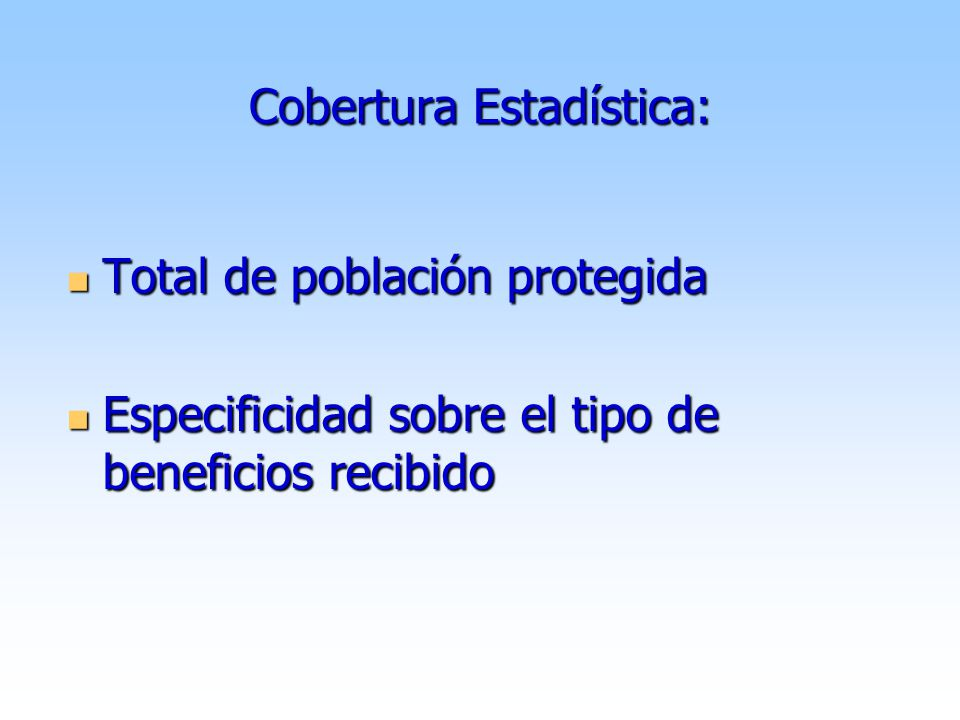 Uruguay Cobertura Estadística 1996-2006 1996-2006