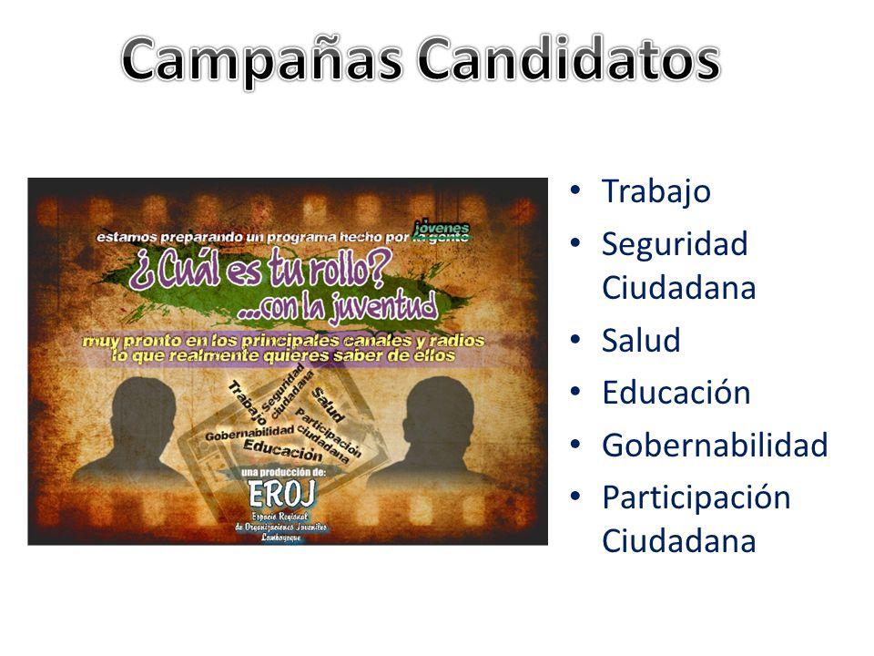 Actividad coordinada con EROJ (Espacio Regional de Organizaciones Juveniles) y realizada con candidatos y equipos de trabajo de los partidos políticos a segunda vuelta en al región Lambayeque.