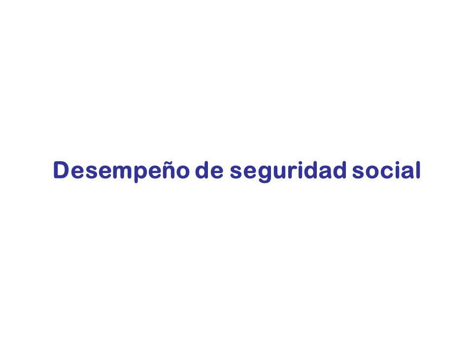 16 Desafíos de las políticas de seguridad social 1.