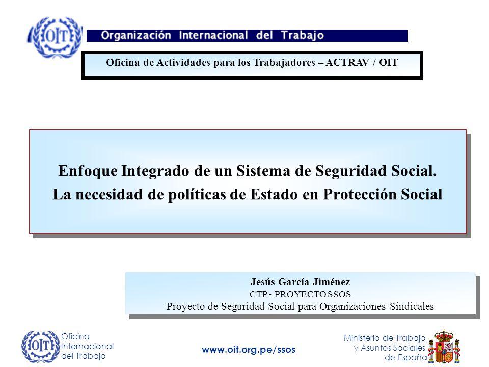 Enfoque Integrado de un Sistema de Seguridad Social.
