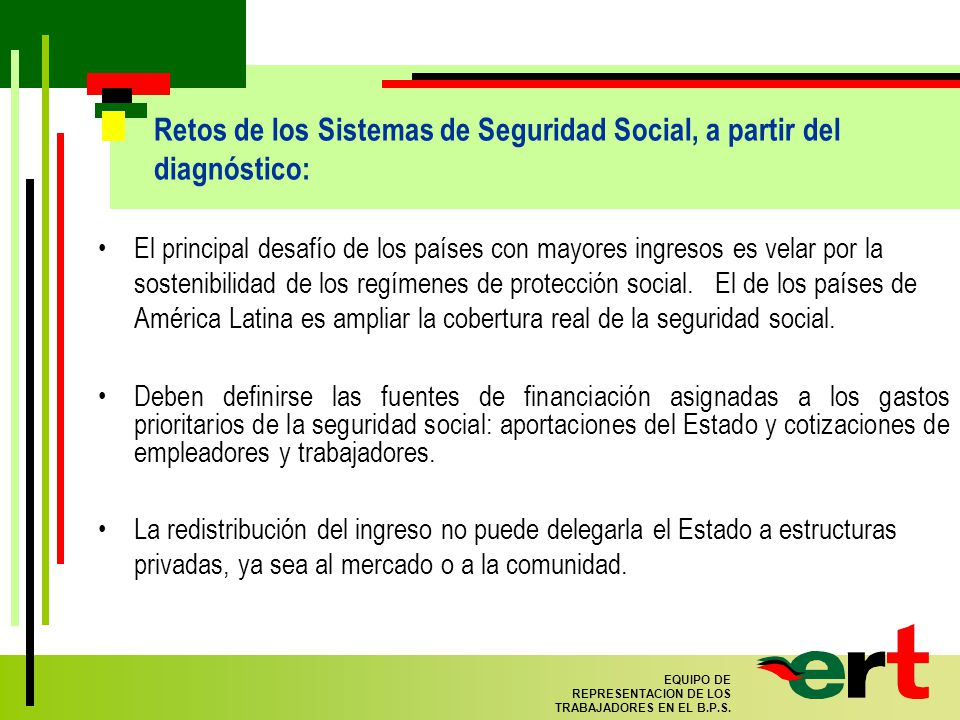 33 EQUIPO DE REPRESENTACION DE LOS TRABAJADORES EN EL B.P.S.
