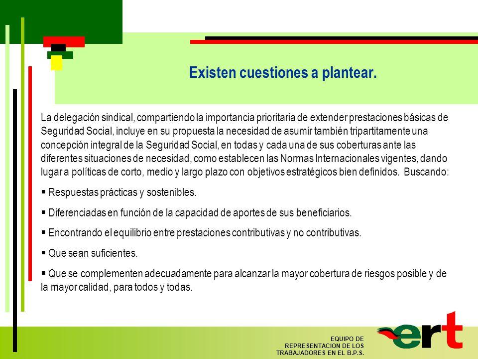99 EQUIPO DE REPRESENTACION DE LOS TRABAJADORES EN EL B.P.S.