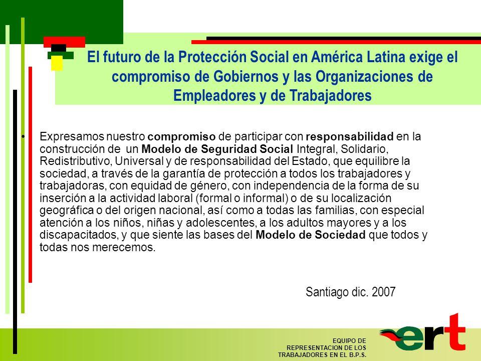 10 EQUIPO DE REPRESENTACION DE LOS TRABAJADORES EN EL B.P.S.