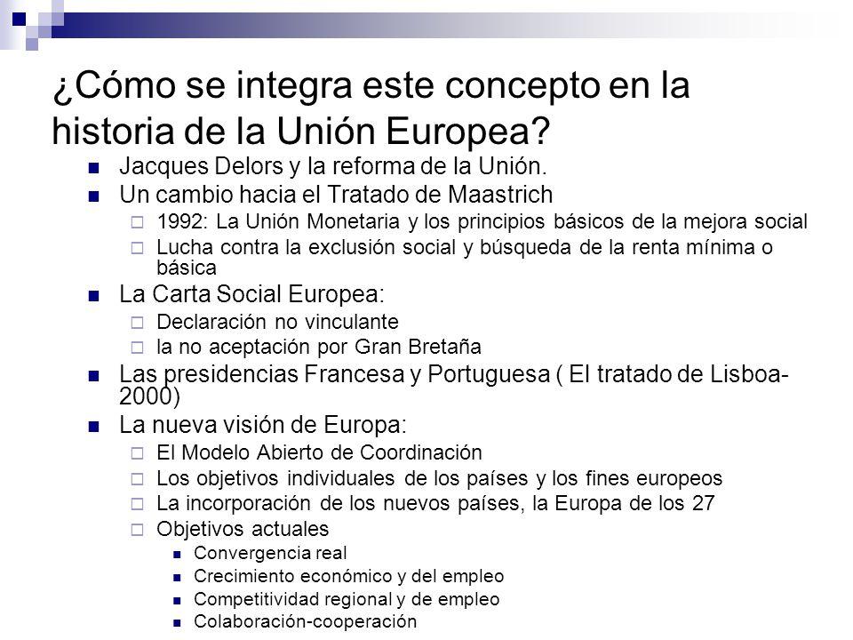 ¿Cómo se integra este concepto en la historia de la Unión Europea? Jacques Delors y la reforma de la Unión. Un cambio hacia el Tratado de Maastrich 19