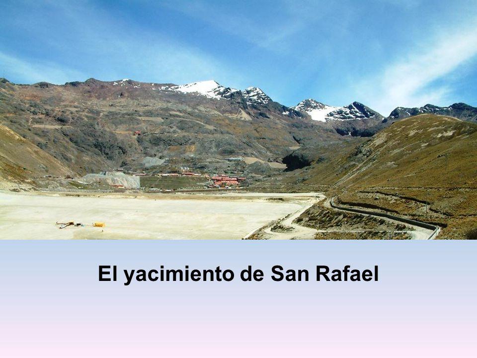 El yacimiento de San Rafael