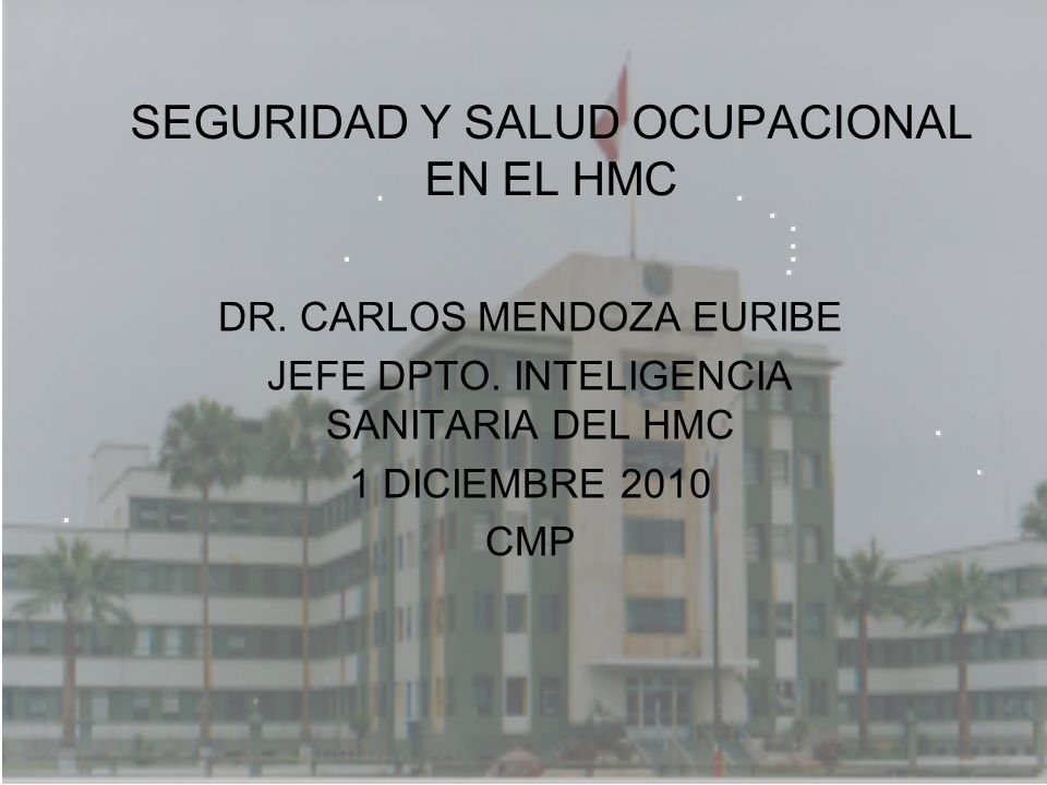 Hospital Militar Central Hospital nivel III-1 Referencia E.P.