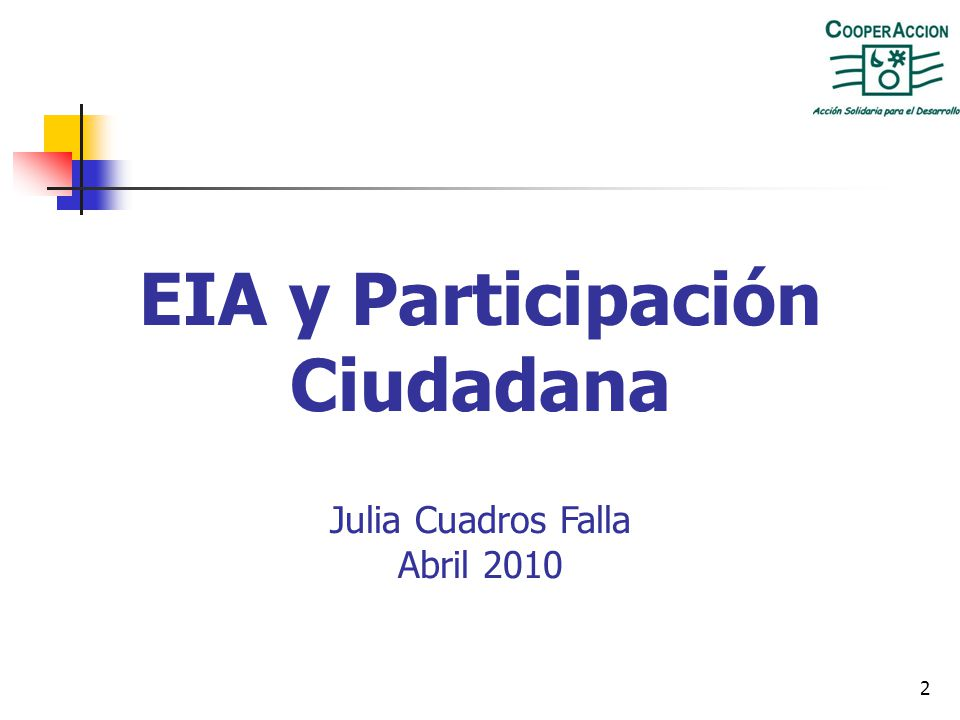 12 2) Los EIA son un estudio de parte Desde 1992, los EIA para el sector deben ser realizados por una empresa consultora inscrita en el MEM.