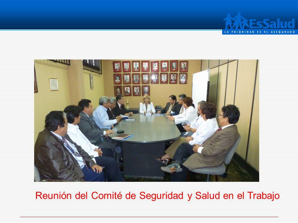 Reunión del Comité de Seguridad y Salud en el Trabajo