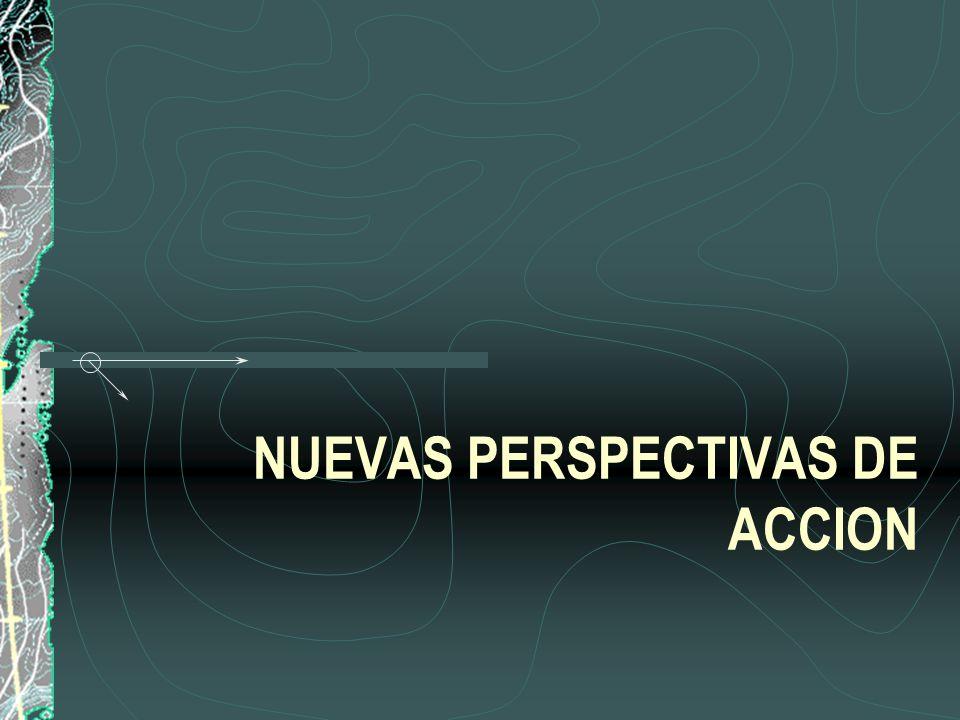NUEVAS PERSPECTIVAS DE ACCION
