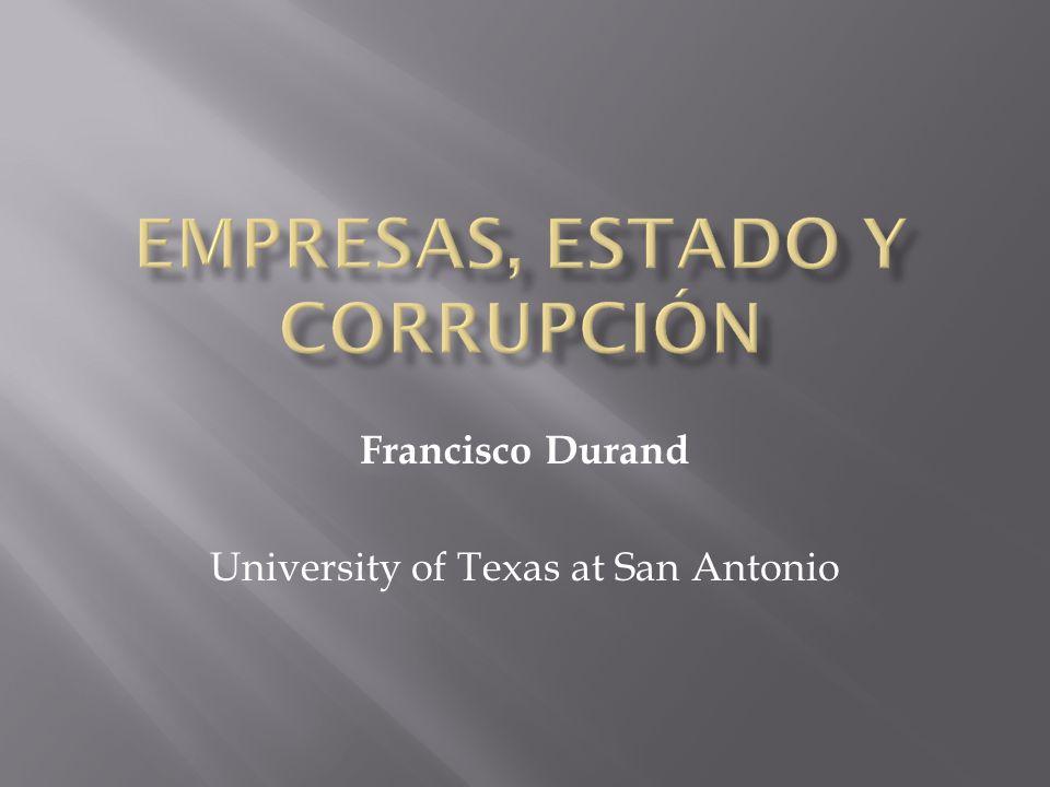 Francisco Durand University of Texas at San Antonio