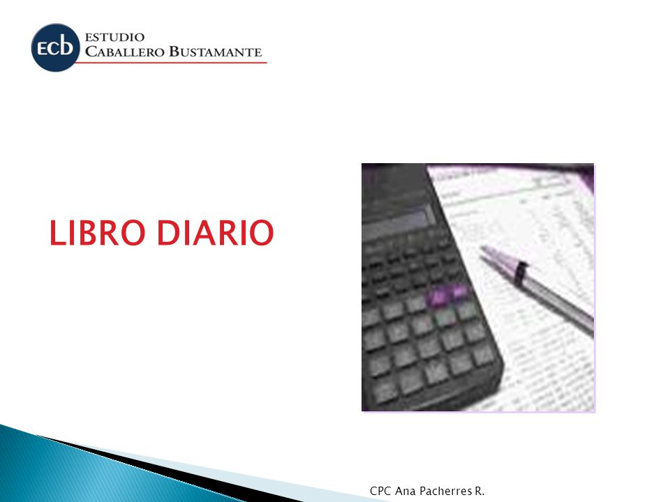 CPC Ana Pacherres R. LIBRO DIARIO