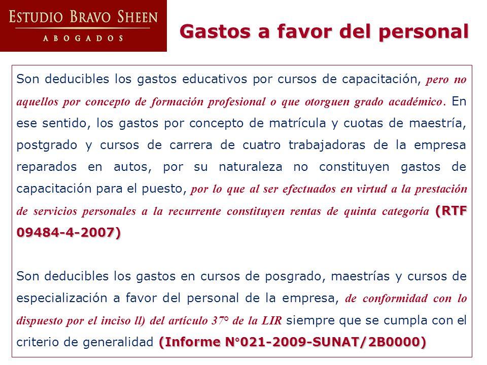 (RTF 09484-4-2007) Son deducibles los gastos educativos por cursos de capacitación, pero no aquellos por concepto de formación profesional o que otorg