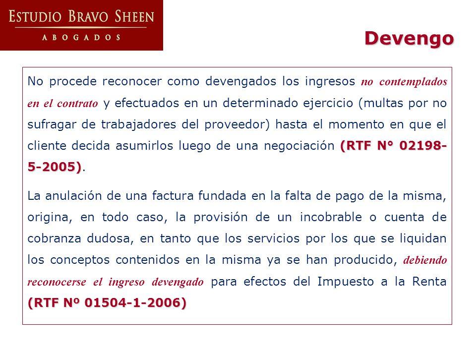 Gastos Publicidad (RTF Nº 01113-3- 2004; RTF Nº 00670-2-2002) Los gastos de promoción y auspicio de eventos de concurrencia masiva son deducibles en tanto se demuestre que en éstos el contribuyente efectuó publicidad o se le permitió vender sus productos (RTF Nº 01113-3- 2004; RTF Nº 00670-2-2002) (RTF Nº 06749-3-2003).