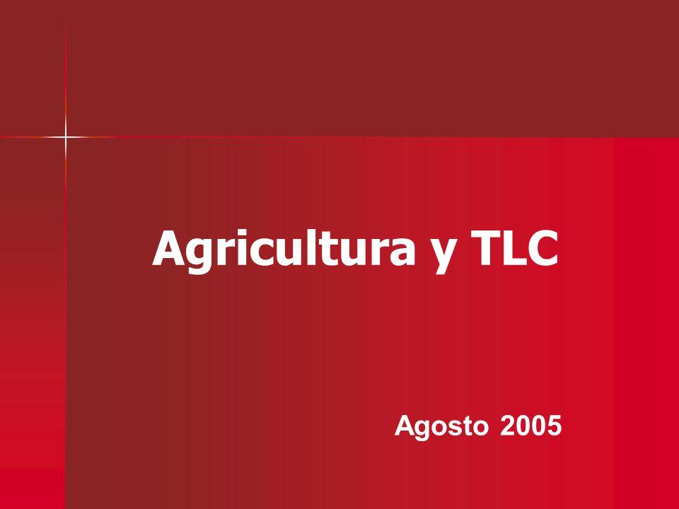 Agricultura y TLC Agosto 2005