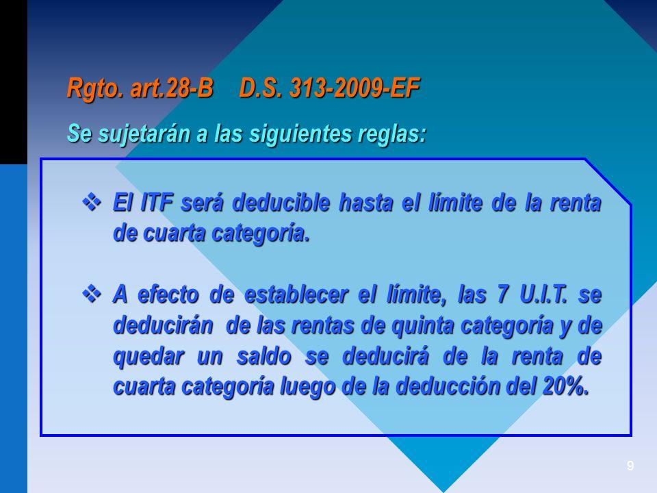120 CASO ESPECIAL No Negociable, Intransferible, etc.
