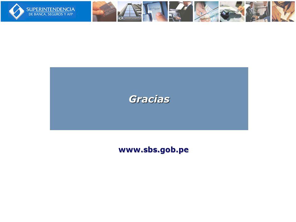 www.sbs.gob.pe Gracias