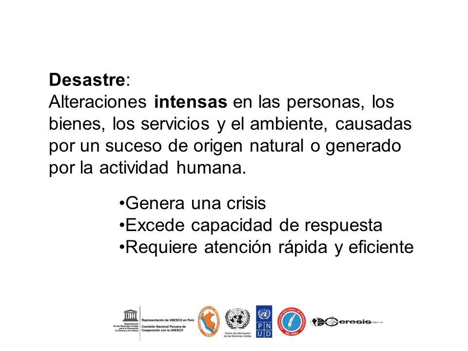 Comunicación en la Gestión de Riesgo de Desastre Facilita el diálogo entre todos los actores sociales involucrados en el proceso.