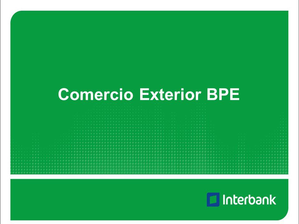 Comercio Exterior BPE