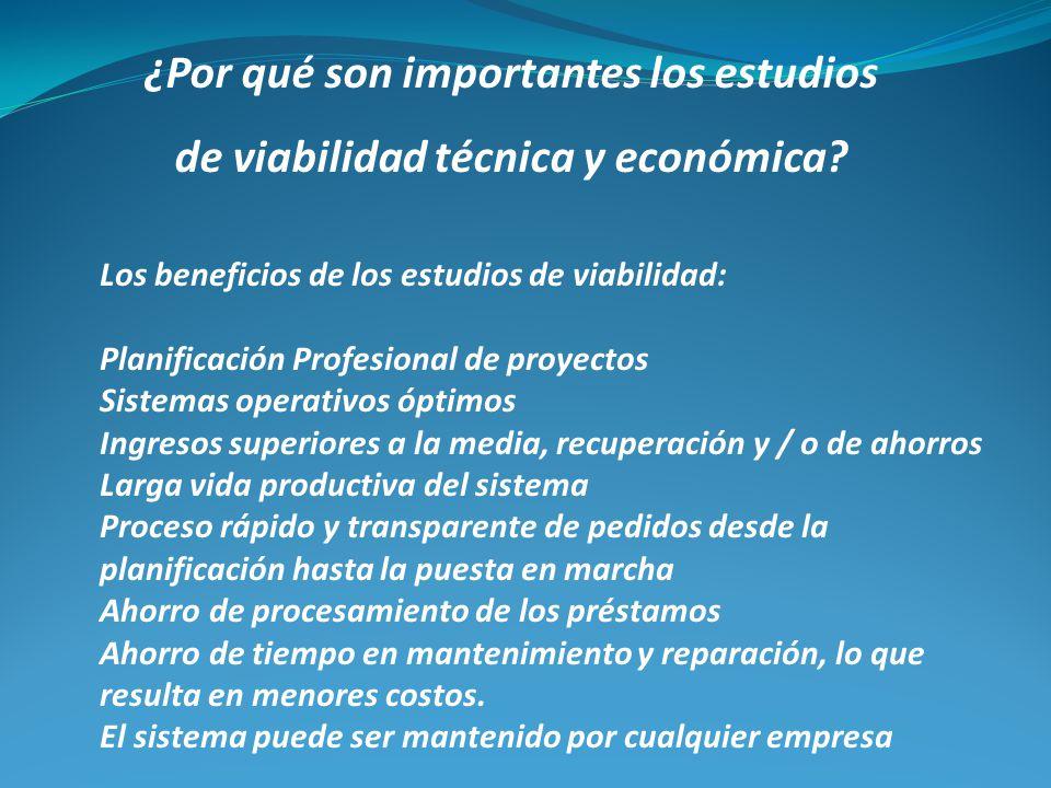 ¿Por qué son importantes los estudios de viabilidad técnica y económica? Los beneficios de los estudios de viabilidad: Planificación Profesional de pr