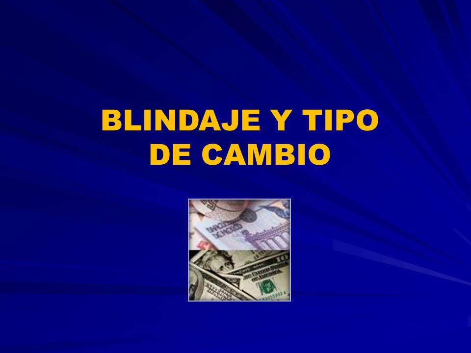 BLINDAJE Y TIPO DE CAMBIO