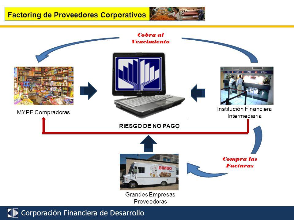 Corporación Financiera de Desarrollo SEPYMEX Factoring de Proveedores Corporativos S/.