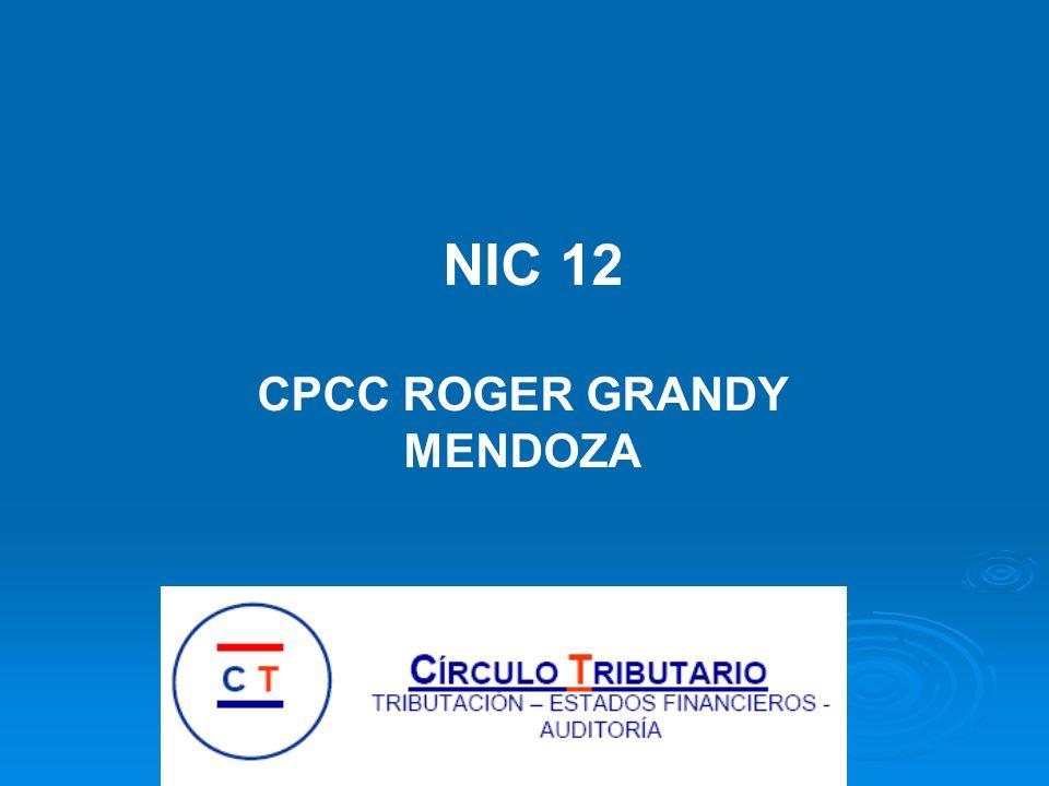 NIC 12 CPCC ROGER GRANDY MENDOZA