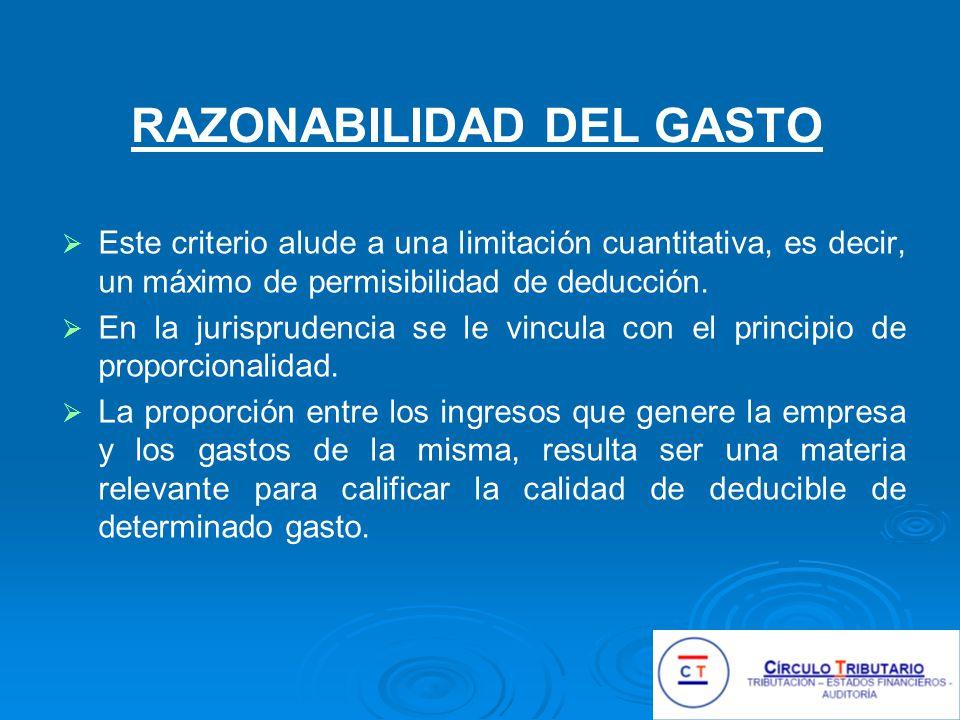 GASTOS DE VENTA – 5 Gastos de publicidad de un laboratorio: agasajos y obsequios para estudiantes de la profesión médica.