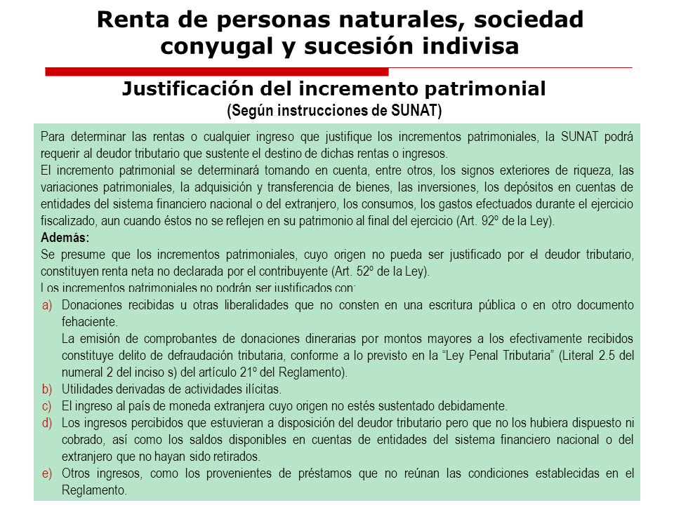 Fuente:Aplicación Práctica del Impuesto a la Renta, ejercicios 2008 y 2009 Autor: CPC Luciano Carrasco Buleje Renta de personas naturales, sociedad co