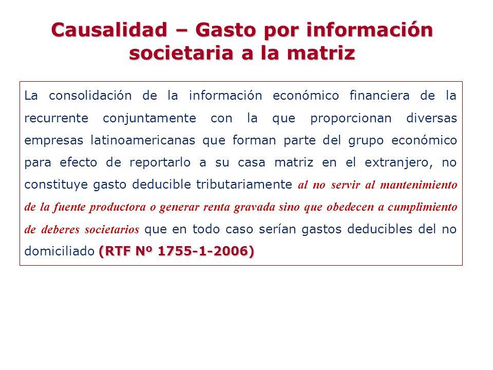 (RTF Nº 1755-1-2006) La consolidación de la información económico financiera de la recurrente conjuntamente con la que proporcionan diversas empresas