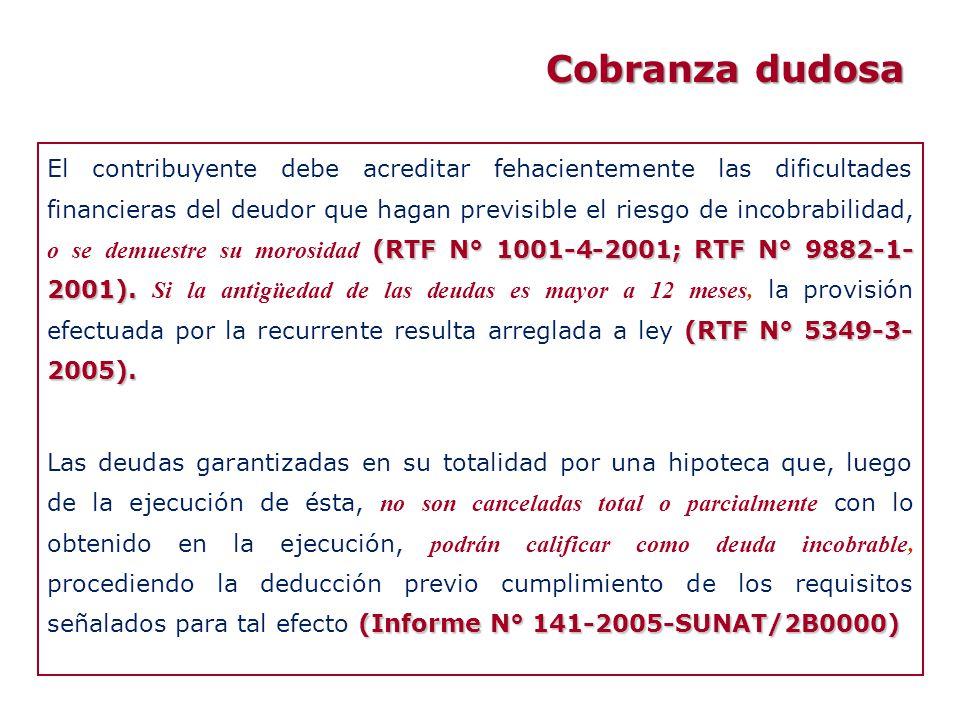 (RTF N° 1001-4-2001; RTF N° 9882-1- 2001). (RTF N° 5349-3- 2005). El contribuyente debe acreditar fehacientemente las dificultades financieras del deu
