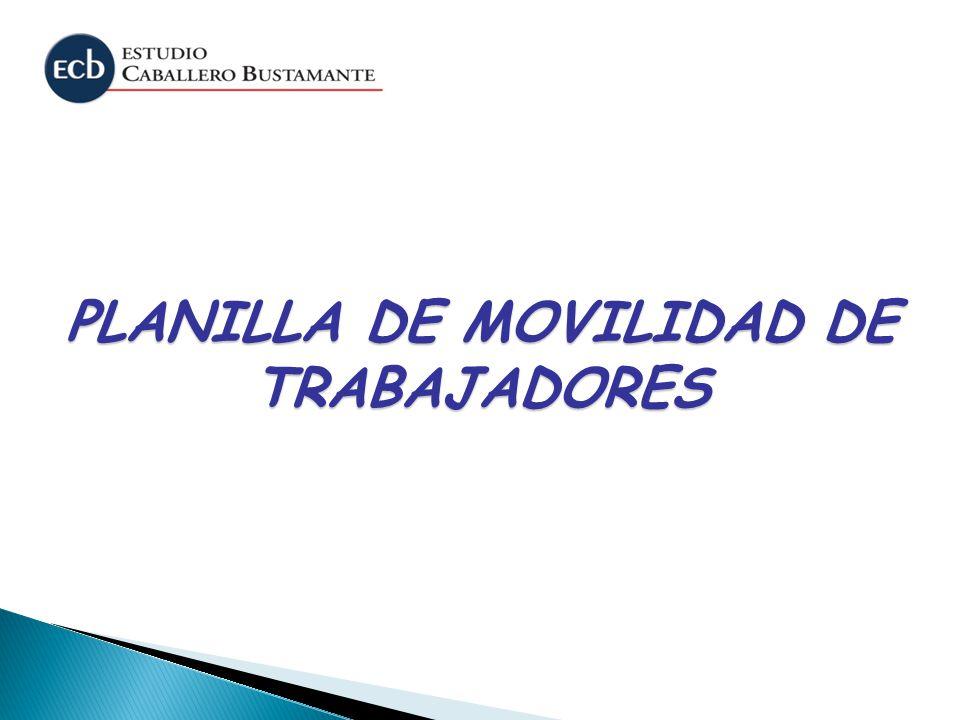 PLANILLA DE MOVILIDAD DE TRABAJADORES