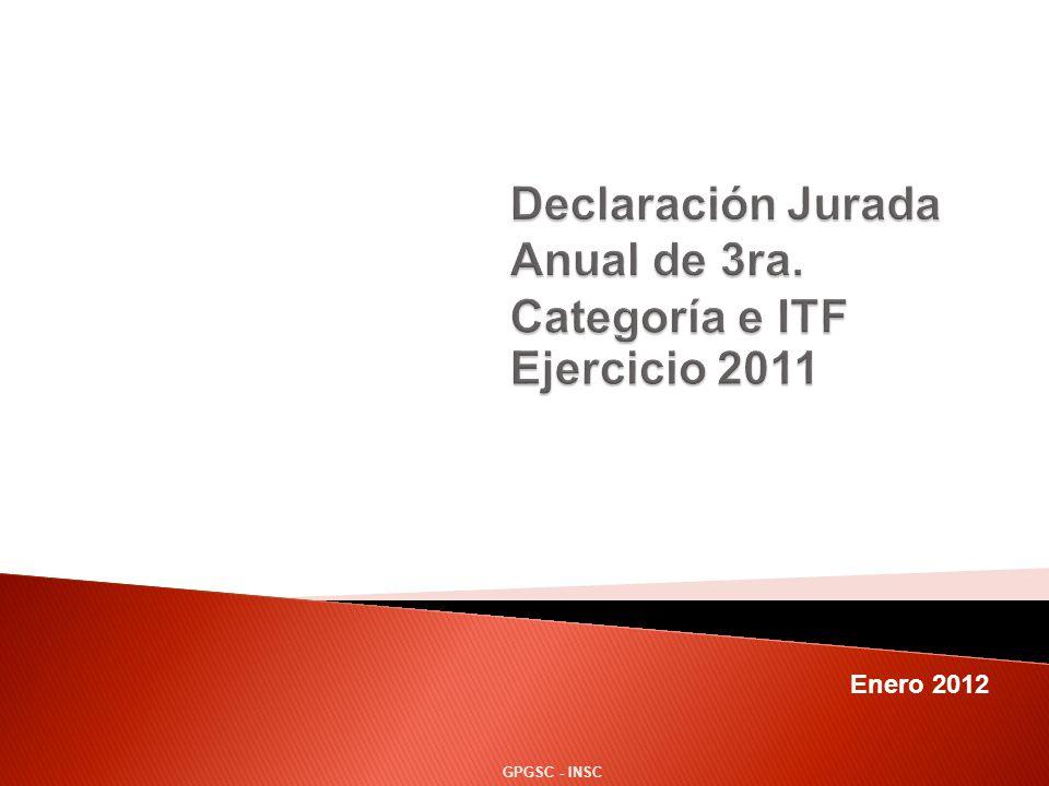 Enero 2012 GPGSC - INSC