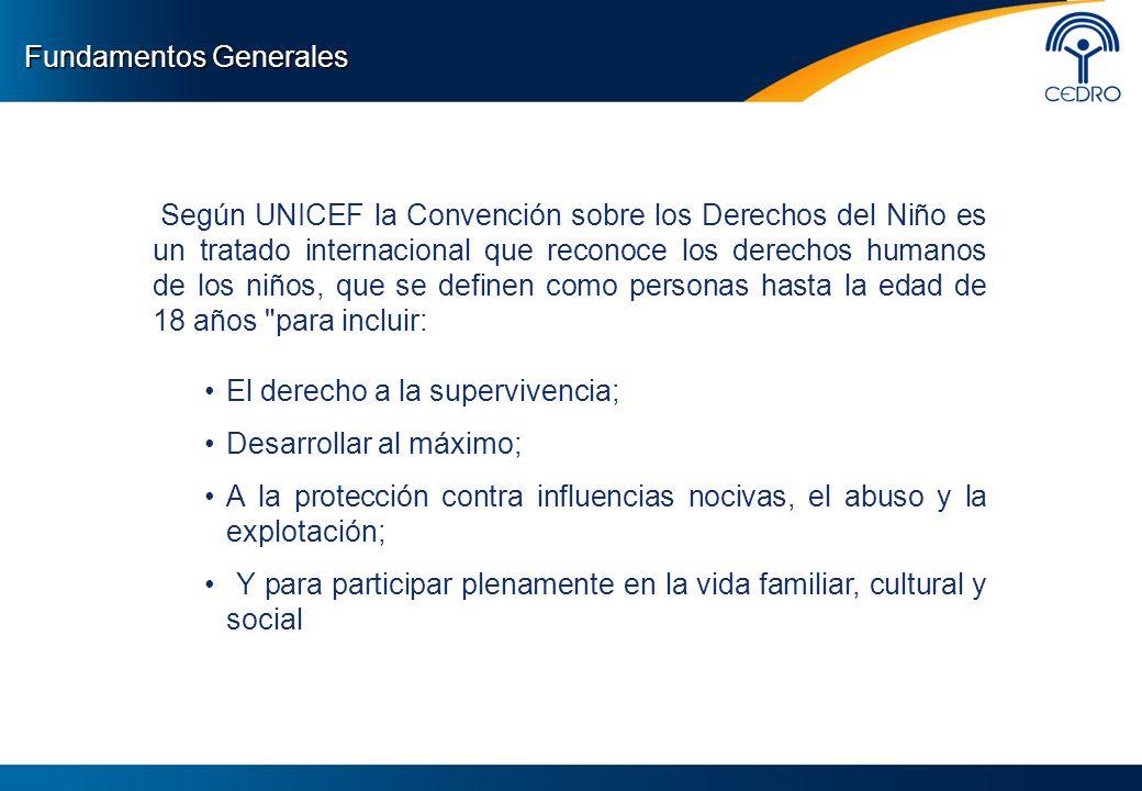 Según UNICEF la Convención sobre los Derechos del Niño es un tratado internacional que reconoce los derechos humanos de los niños, que se definen como