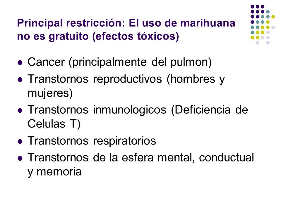 Efectos del uso de marihuana en el ser humano FISIOLOGICOS: Taquicardia Inyección Conjuntival Sequedad de la boca y la garganta Aumento del apetito Va