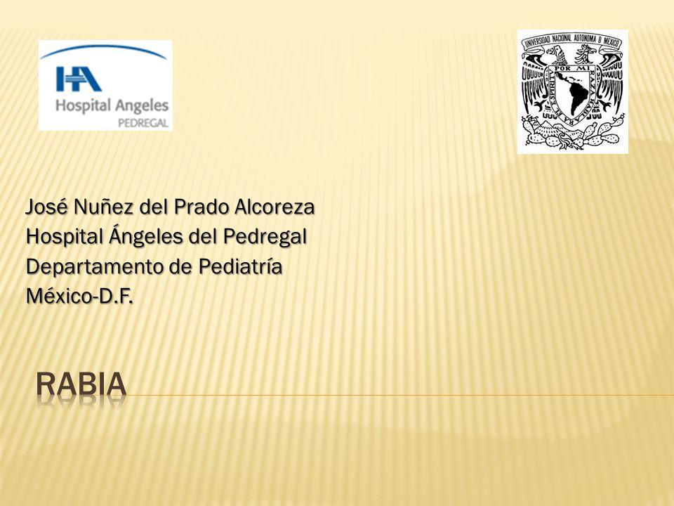 José Nuñez del Prado Alcoreza Hospital Ángeles del Pedregal Departamento de Pediatría México-D.F.