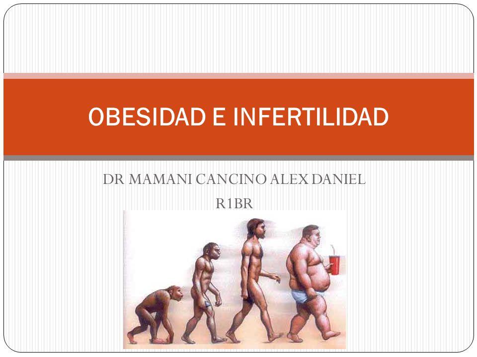 DR MAMANI CANCINO ALEX DANIEL R1BR OBESIDAD E INFERTILIDAD