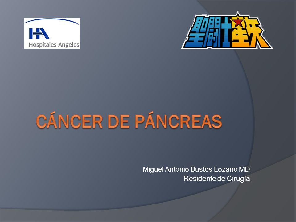 Miguel Antonio Bustos Lozano MD Residente de Cirugía