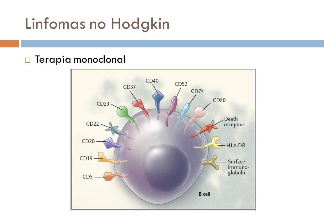 Linfomas no Hodgkin Terapia monoclonal