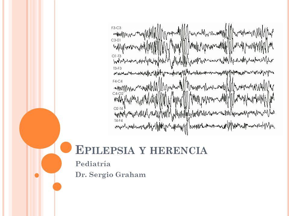 E PILEPSIA Y HERENCIA Pediatría Dr. Sergio Graham